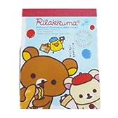 リラックマ★クロスメモ★ボンジュールリラックマシリーズ★サンドイッチ