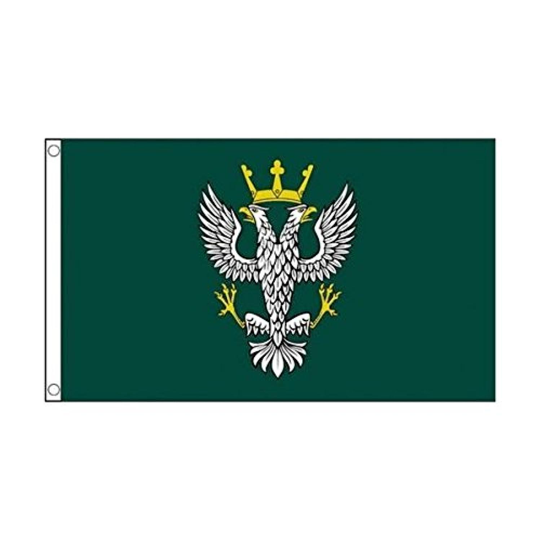 英国 陸軍 メルシャン連隊 イギリス 90cmx150cm 特大フラッグ【ノーブランド品】