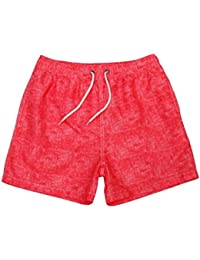 aicessess Men Shorts Loose Bechwear Summer Casual Drawstring Boardshorts