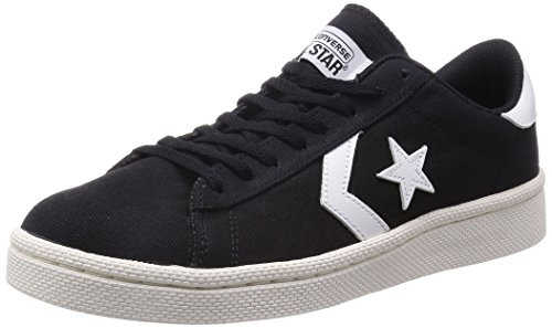 [コンバース] XL PRO-LEATHER CANVAS OX XL PRO LE CVS BLK (ブラック/10)