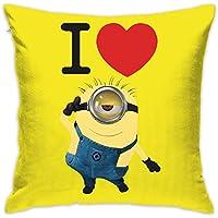 ちひろ ミニオンズ 映画 ケビン 画像 バナナ 3 フルジップ 抱き枕 だきまくら クッション 座布団 柔らかい 贈り物 中身:綿 45 * 45cm