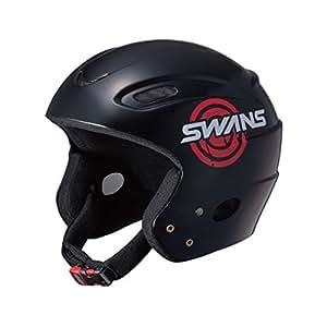SWANS(スワンズ) ジュニアヘルメット スキー スノーボード H-50 JM BK ブラック