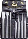 [N-2182360]モクバ印 タガネセット(袋入り)7本組 A67