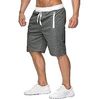 MogogoWomen Plus Size Shorts 100% Cotton Beach Trousers Jogger Pant