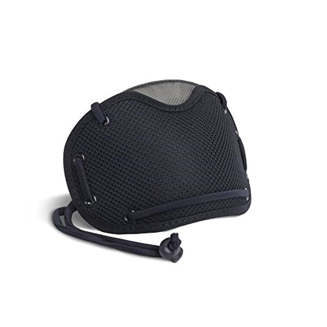 エージェント予防接種電話する[イタリア製BANALE] 超快適 PM2.5対応 花粉症、細菌、アレルゲン対策 携帯用トラベルマスク (ブラック)