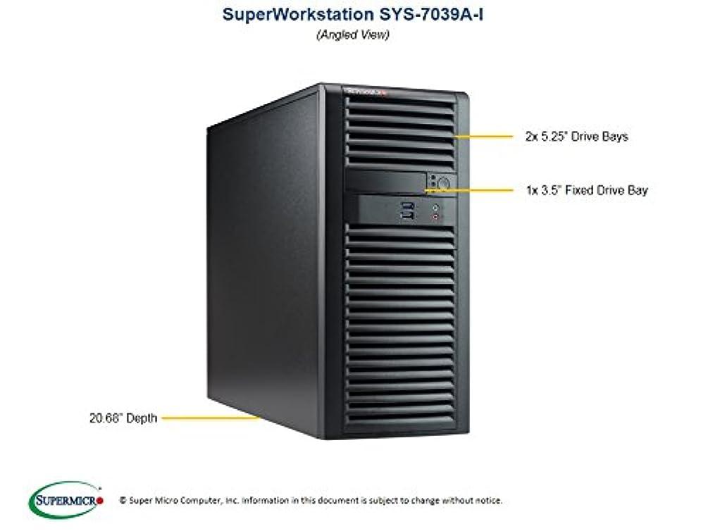 完全にアーティキュレーション個性Supermicroシステムsys-7039 a-i Midtower Xeon lga3647 C621 Max。2tb 4 x 3.5インチ2 x 5.2