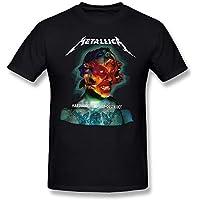 Metallica Hardwired To Self Destruct Album ート 人気 カスタム デザイン 男性Tシャツ 半袖