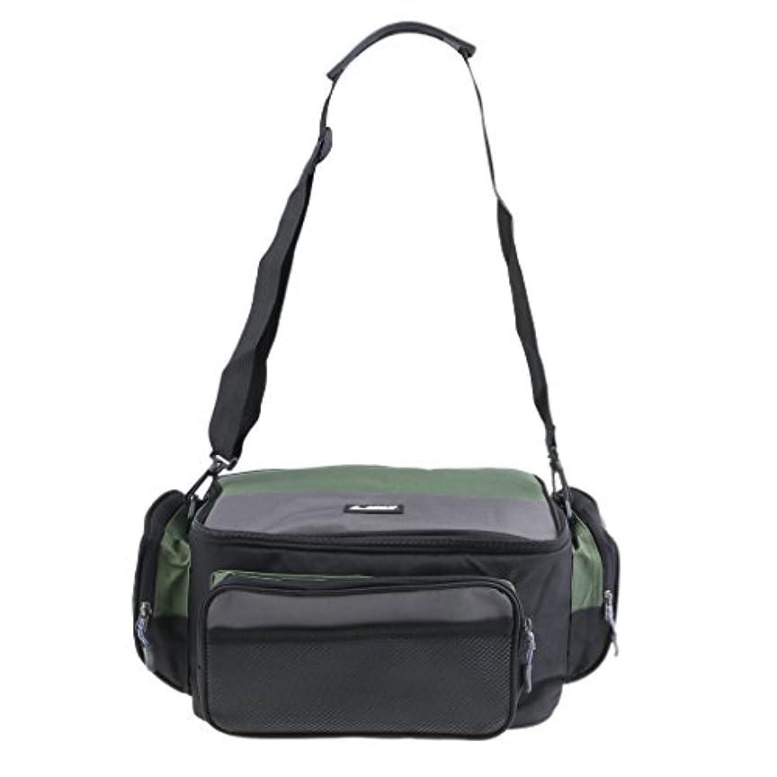 中でラグ電気のSunniMix 多機能 ハイキング キャンプ 旅行 タックルバッグ 釣り袋 広い開口 マルチポケット 大容量 防水 耐久性