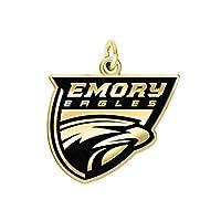 Emory Eagles 14k イエローゴールド カットアウト ロゴ カレッジチャーム