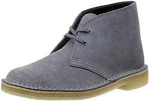 [クラークス] Clarks ブーツ デザートブーツ 26117348 Blue/Grey Suede (ブルー/グレースエード/UK 040)