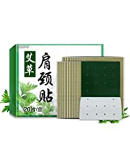 intercorey Hot and cold pad 20PCS/SET Wormwood Extract Health Care Detox Moxibustion Relax Patch Waist Neck Muscular...