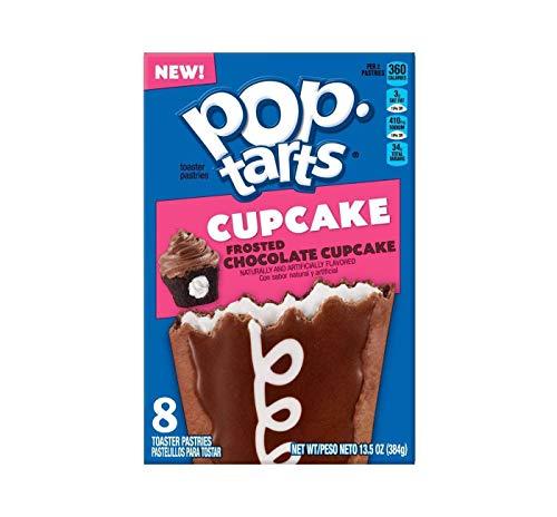 Pop-Tarts Frosted Chocolate Cupcake ポップタルトフロストチョコレートカップケーキペストリー384g [並行輸入品]