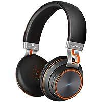NUBWO S2ブルートゥースヘッドホン Wireless on-ear イヤホン ワイヤレスヘッドセット Bluetooth 4.1 高音質 最大14時間連続再生 内蔵マイク PC Mac スマホなどに対応 NUBWO S2(ブラック)