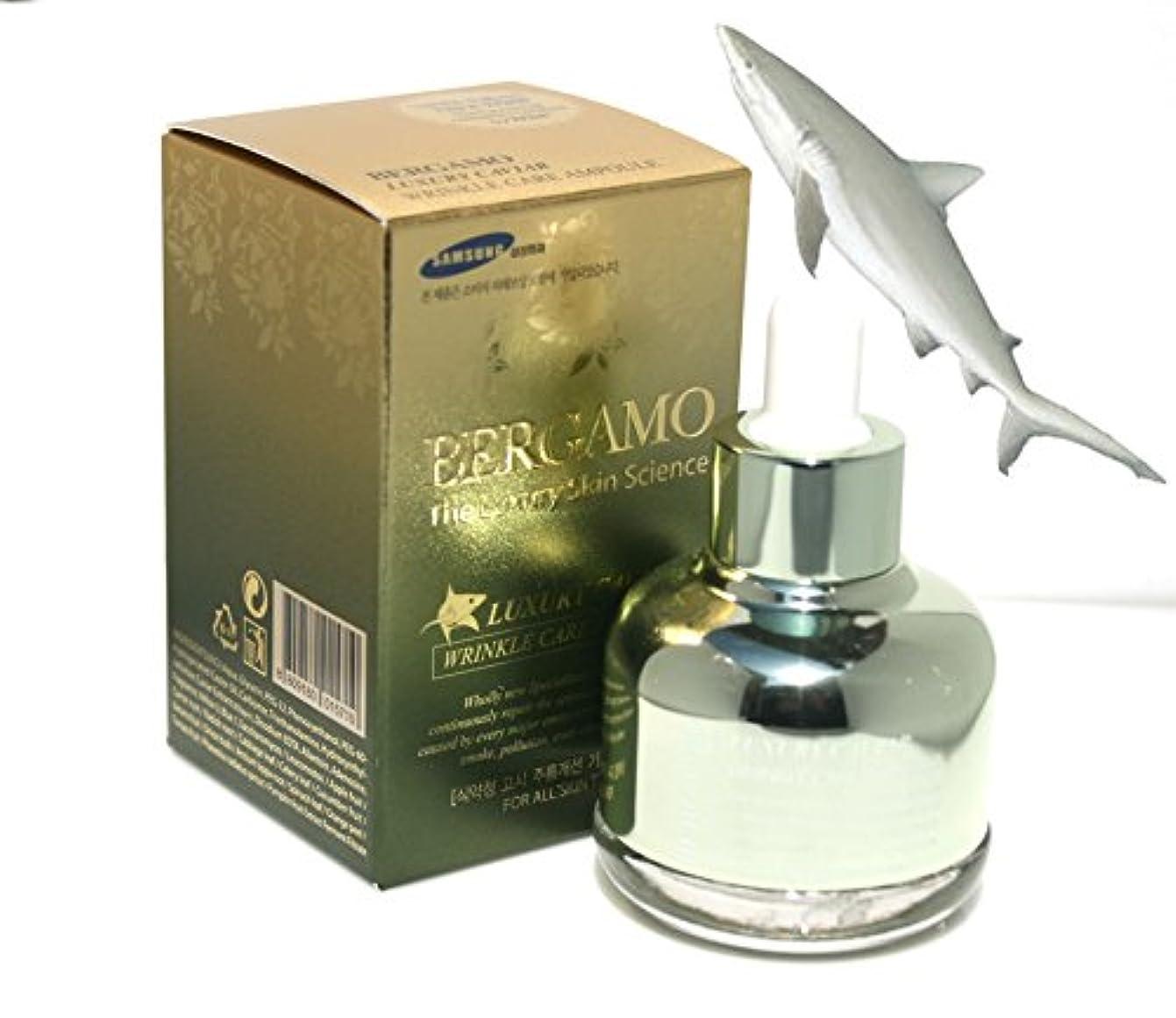 【ベルガモ][Bergamo] 皮膚科学高級キャビアリンクルケアアンプル30ml / The Skin Science Luxury Caviar Wrinkle Care Ampoule 30ml / 韓国化粧品 /...