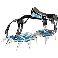 Salewa Alpinist Alu crampon Walk grey/blue 2014 iron spike blue Steel/Blue Size:37 x 13.5 x 12 cm by Salewa