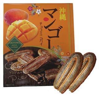 沖縄マンゴー 沖縄紅芋 チョコミニパイ 24個入り×各3箱 クローバーおきなわ 沖縄マンゴーと紅芋を使用 南国の甘い香りとサクサクのパイ 沖縄土産