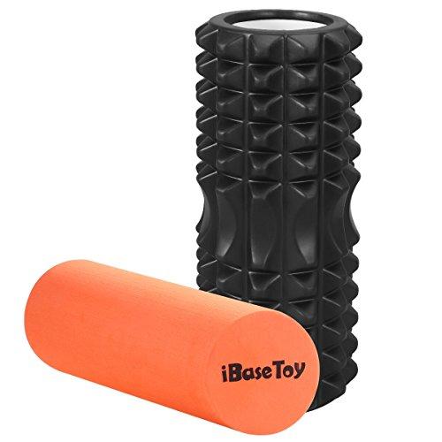 フォームローラー ヨガポール iBaseToy ストレッチローラー ヨガローラー スポーツトレーニング 筋膜リリース マッサージ 腰痛・肩コリ・筋肉痛を改善