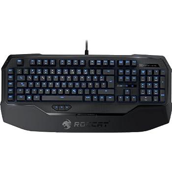 ROCCAT Ryos MK Pro – Mechanical ゲーミングキーボード With Per-Key Illumination (Cherry MX Black) JP Layout 正規保証品 ROC-12-866-BK-AS  ロキャット