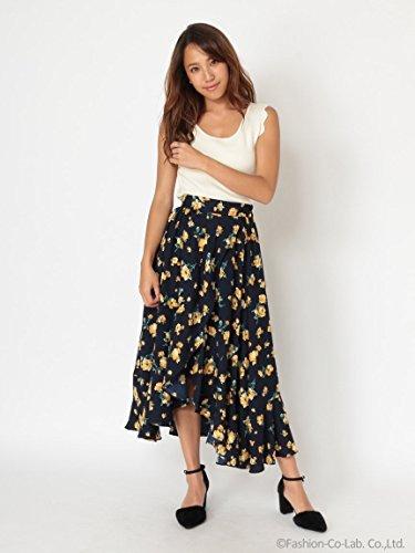 CECIL McBEE(セシルマクビー)フラワーヘムスカート