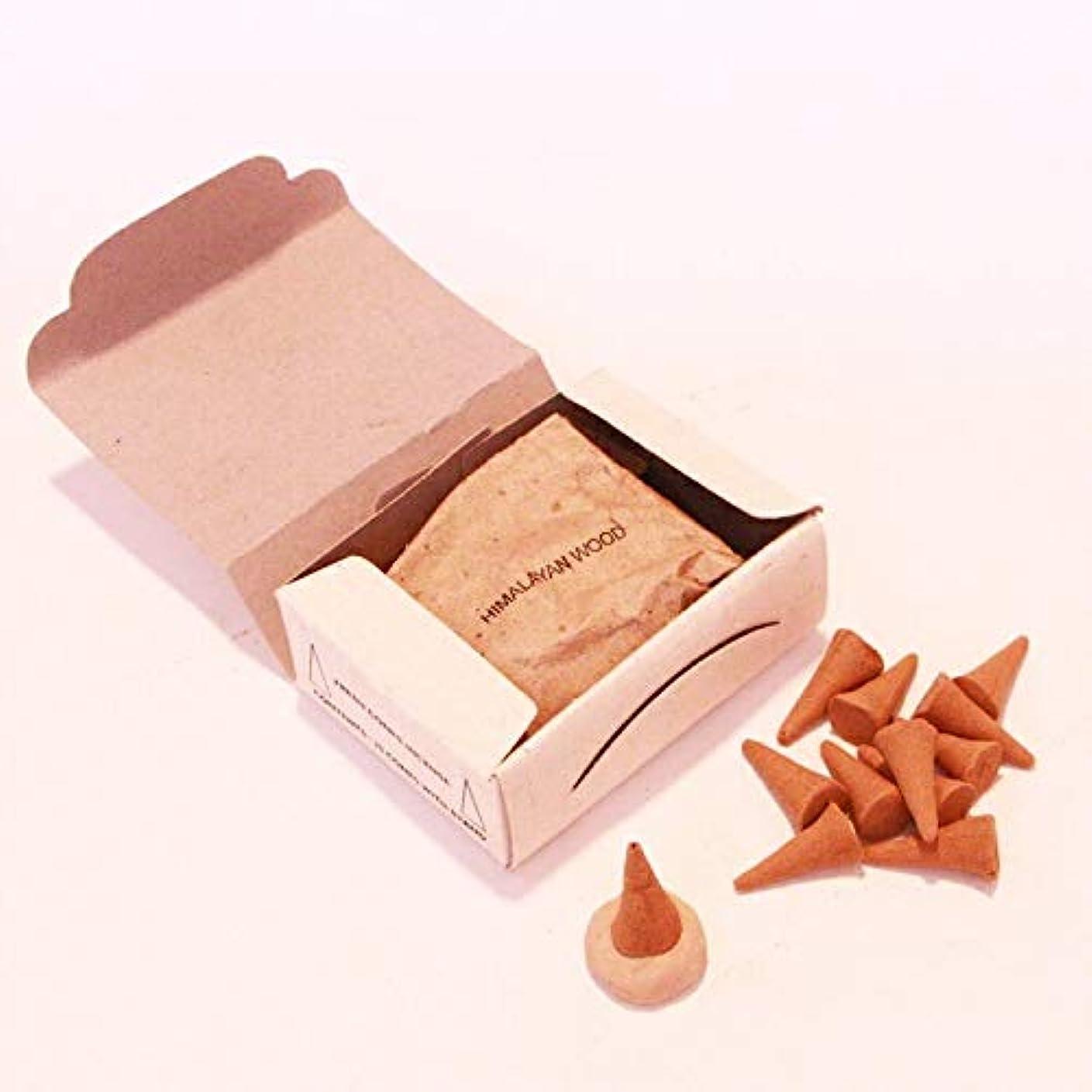 魔術イチゴ偽物高級インド雑貨カオス ナチュラル インセンス コーンタイプ 25個入 お香立てつき (フランキンセンス)