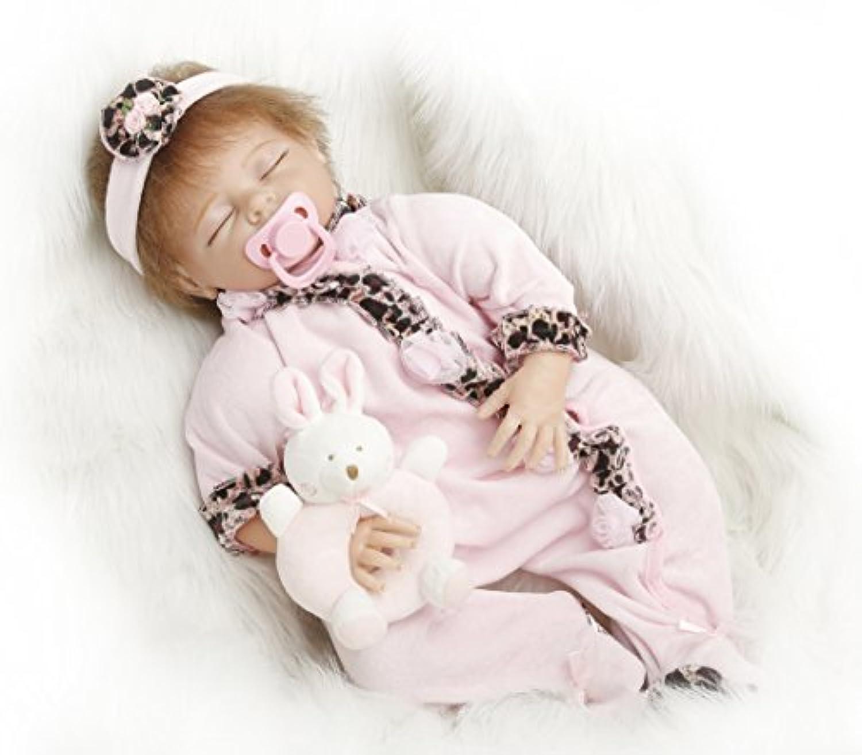 NPK collection Rebornベビー人形Realisticベビー人形22インチビニールシリコン赤ちゃん人形Newborn Realベビー人形Sleep人形