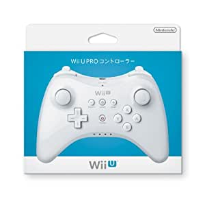 Wii U PRO コントローラー (shiro)