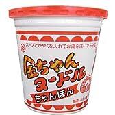 徳島製粉 金ちゃんヌードル ちゃんぽん(太麺) 77g×12個入