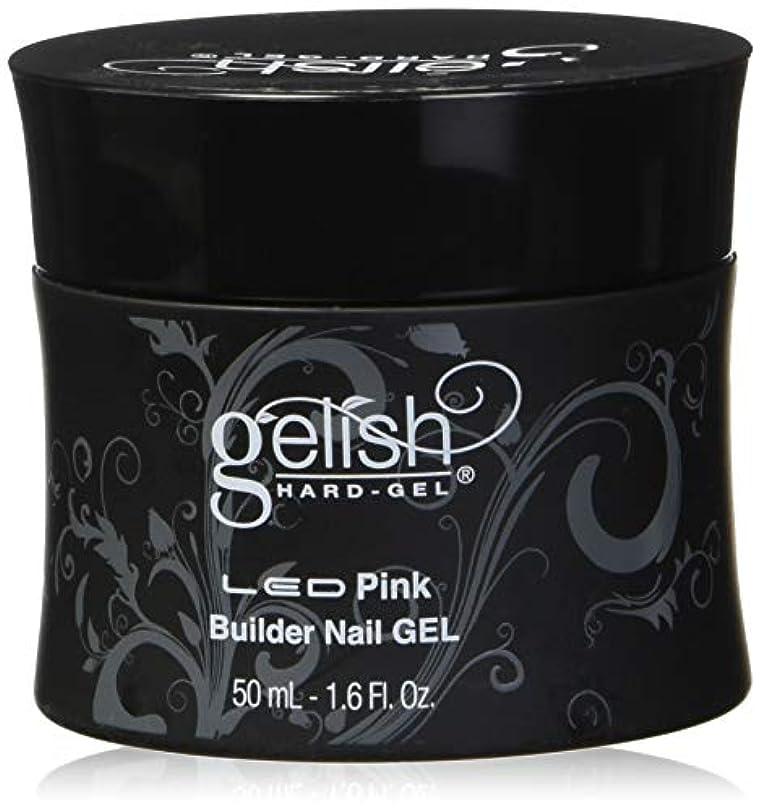 生息地注入空のHarmony Gelish LED Hard Gel - Pink Builder - 1.6oz / 50ml