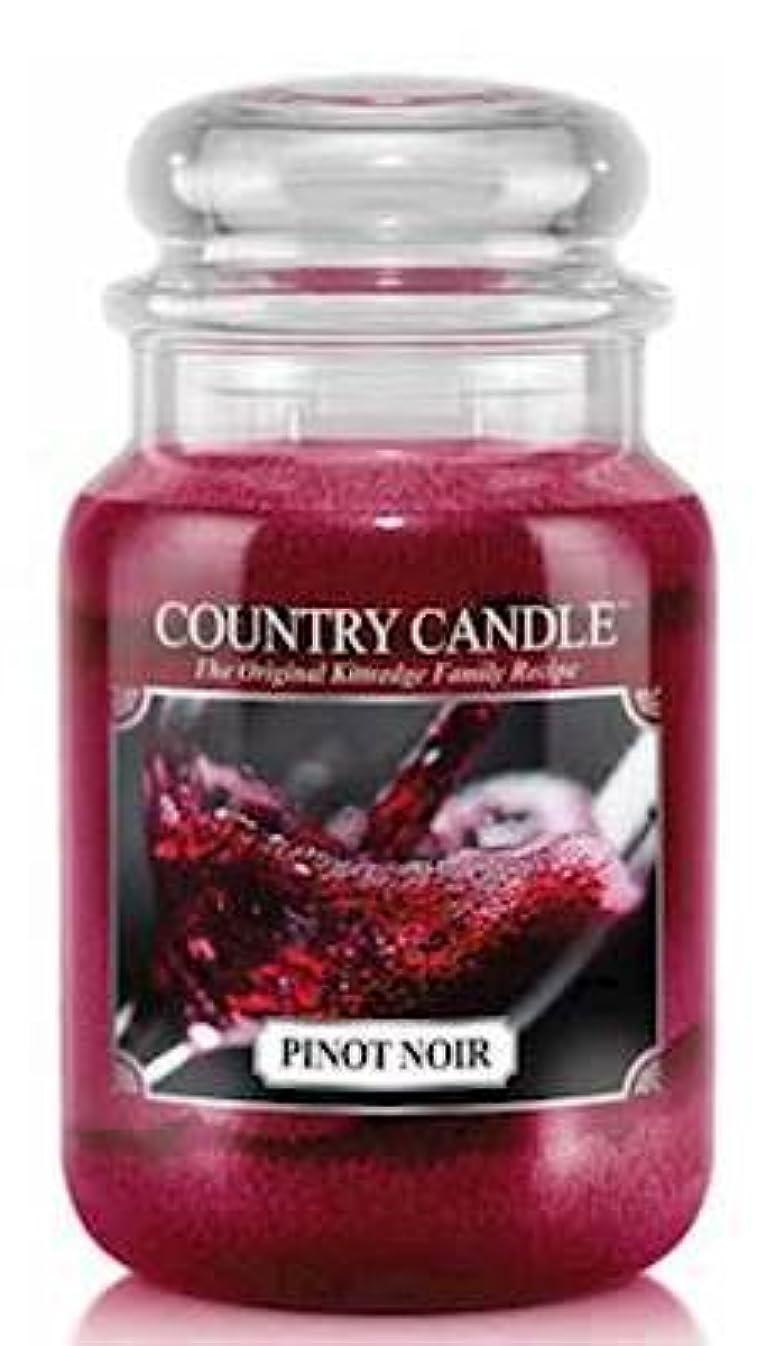 パートナー確立開梱Pinot Noir Country Candle Large 23oz 2-wick香りつきJar Candle