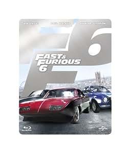 【Amazon.co.jp限定】 ワイルド・スピード EURO MISSION スチール・ブック仕様ブルーレイ+DVDセット(E-Copy) [Blu-ray]