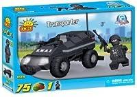 New! COBI Action Town Police Transporter 75 Piece Building Block Set [並行輸入品]