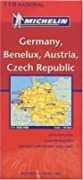 Michelin Germany, Benelux, Austria, Czech Republic (Michelin Maps)