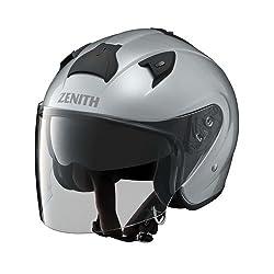 ヤマハ(YAMAHA) バイクヘルメット ジェット YJ-14 ZENITH サンバイザーモデル L(59-60cm) クリスタルシルバー 90791-2279L