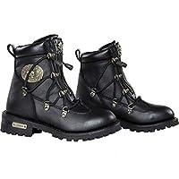 Xelement x93008ブラックStarling Womensブラックパフォーマンスレザーブーツ 9 B(M) US ブラック X93008-Boots-15743854