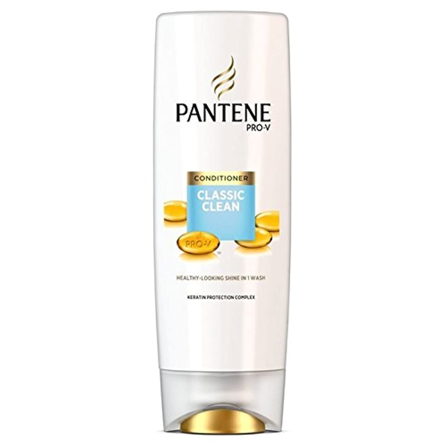 者線デマンドパンテーン古典的なクリーンコンディショナー360ミリリットル x4 - Pantene Classic Clean Conditioner 360ml (Pack of 4) [並行輸入品]