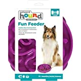Outward Hound Fun Feeder Dog Toy, Purple