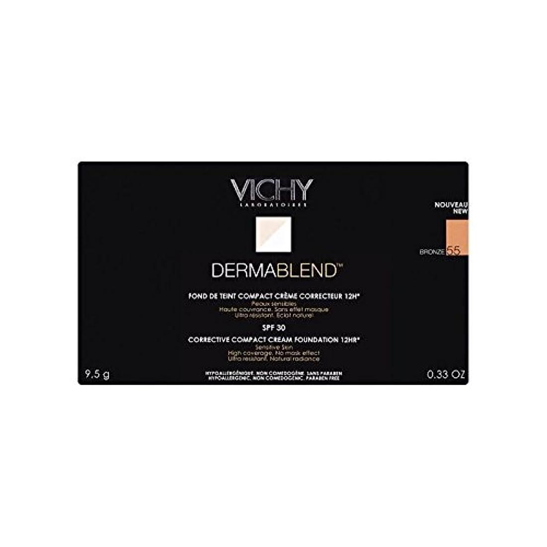 センサーバレーボール飢饉Vichy Dermablend Corrective Compact Cream Foundation Bronze - ヴィシー是正コンパクトクリームファンデーションブロンズ [並行輸入品]