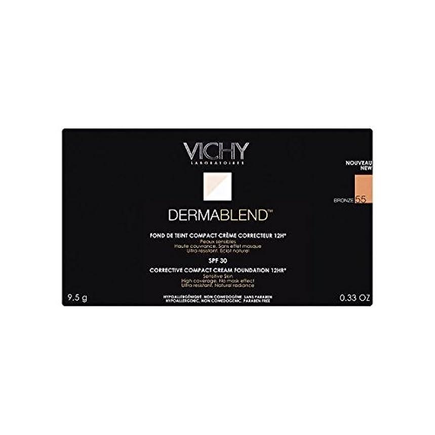 コンデンサー草満足Vichy Dermablend Corrective Compact Cream Foundation Bronze - ヴィシー是正コンパクトクリームファンデーションブロンズ [並行輸入品]