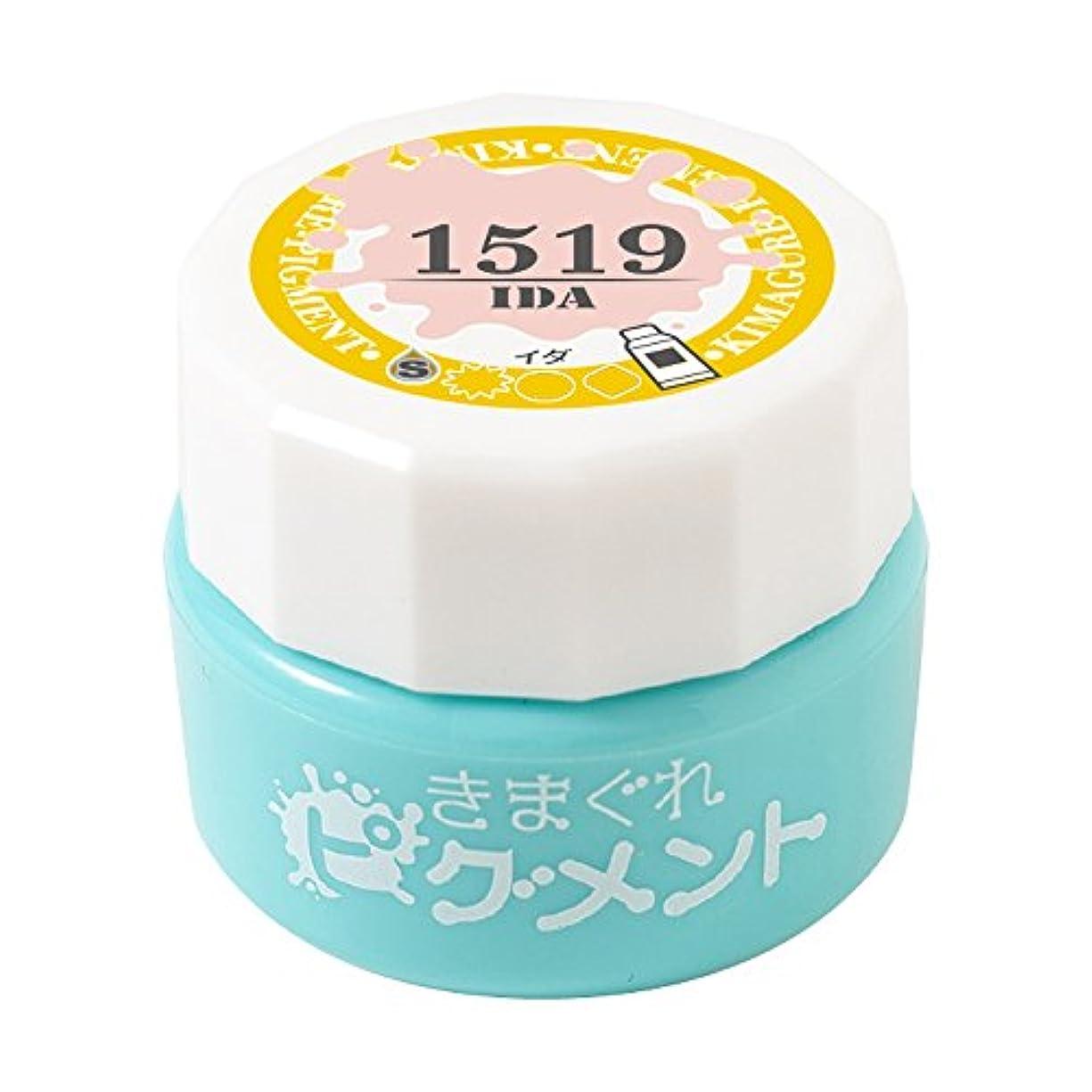 熟練した眉をひそめる洗うBettygel きまぐれピグメント イダ QYJ-1519 4g UV/LED対応