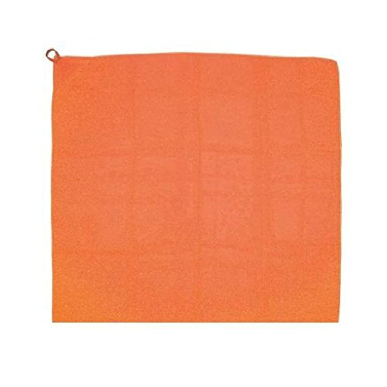 KR65828 ループ付カラースカーフ ミニオレンジ