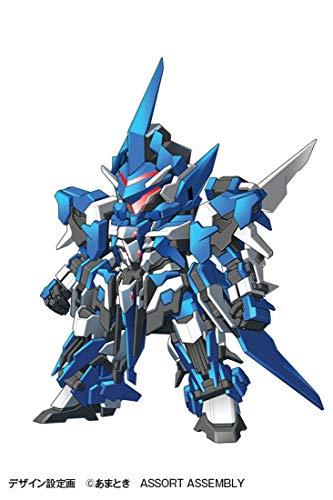 『ウェーブ SUPER ROBOT HEROES イクスクレア 全高約14cm ノンスケール 色分け済みプラモデル KM-036 (メーカー初回受注限定生産)』の10枚目の画像