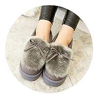 冬 大人 綿 靴レディースかわいいベルベット 暖かい家 室内親子靴おしゃれ 女の子 綿スリッパ すべらない,グレー 綿 靴,37の足