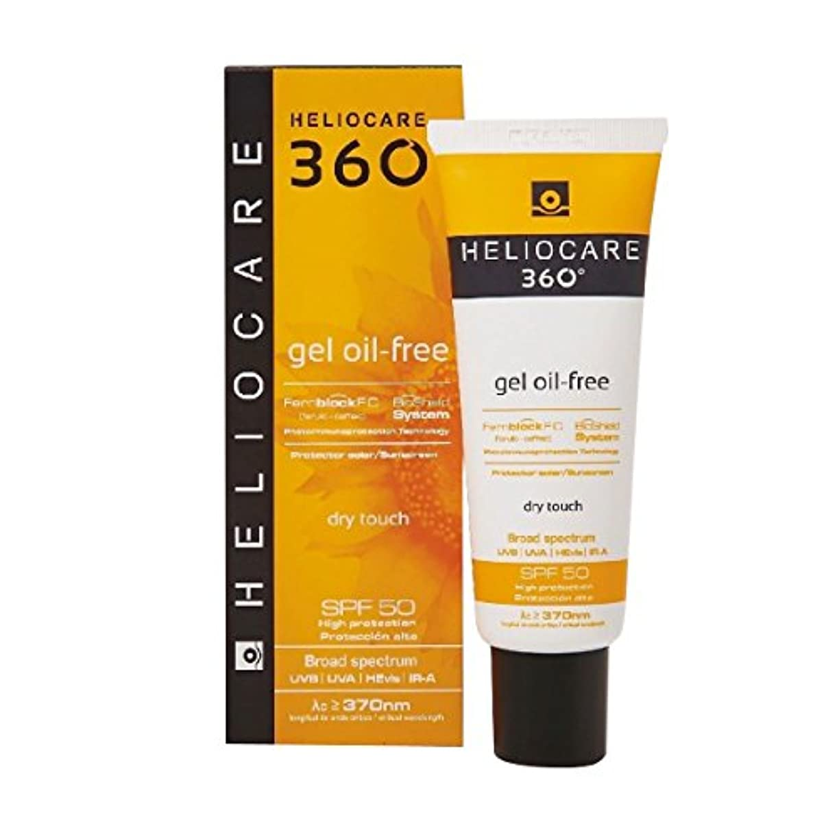 補助認識動的Heliocare 360 Gel Oil Free Spf50 50ml [並行輸入品]