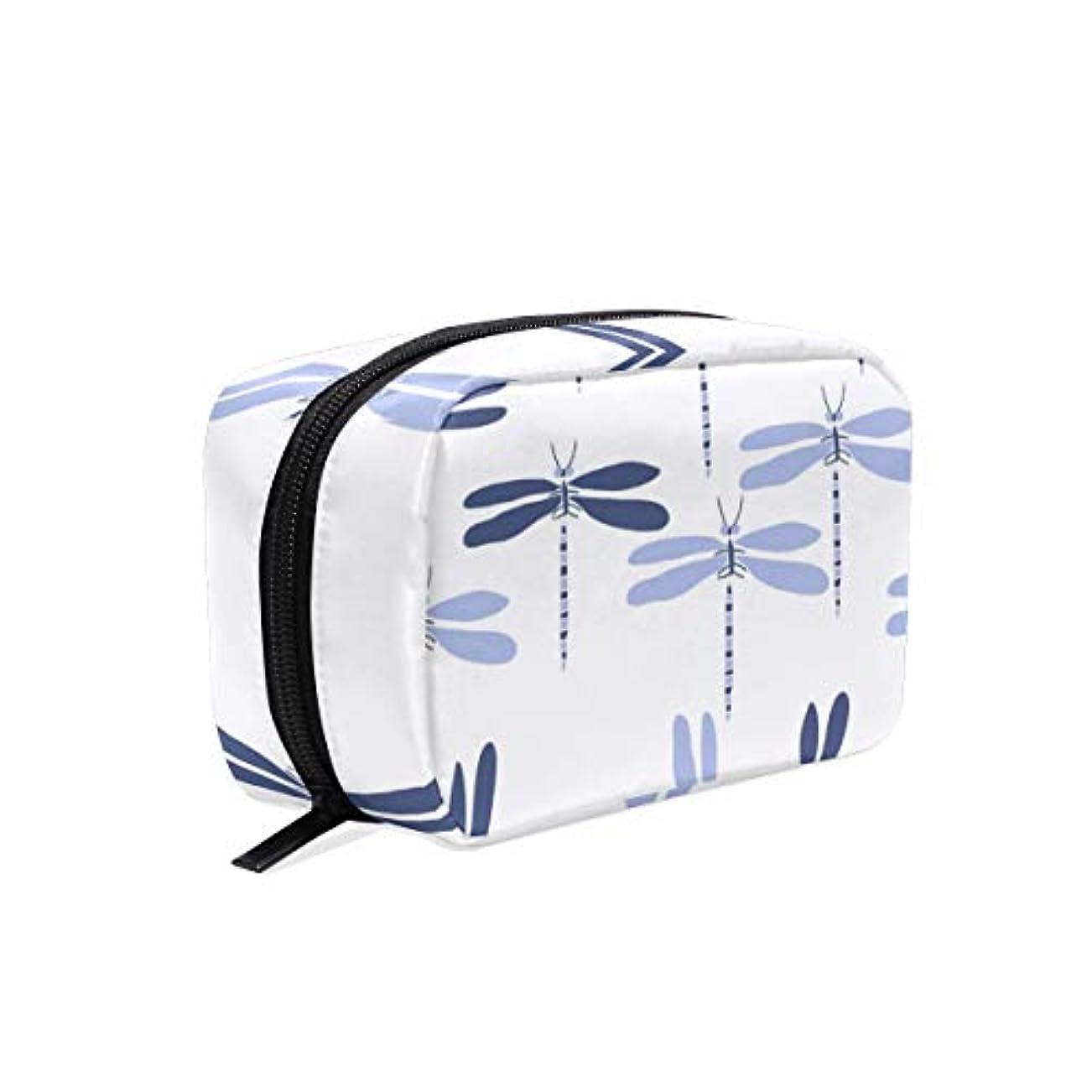 ラッカスあたり視聴者化粧品 収納バッグ コスメポーチ トンボ柄メイクボックス メイクポーチ 多機能 大容量 軽量 化粧ポーチ 小物入れ レディース用 おしゃれ 大容量 旅行出張用 持ち運び便利