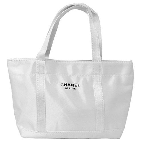 CHANEL シャネル トートバッグ ランチバッグ サブバッグ ロゴ ホワイト 並行輸入品 AMI1262