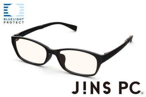 【JINS SCREEN ウエリントン ライトブラウンレンズ】 (BLACK)