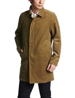 Cotton Wool Corduroy / Blended Cotton Reversible Coat 38-19-0210-803: Khaki