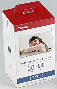 Canon キヤノン 純正 カラーインクカセット/ペーパーカセット KP-108IN