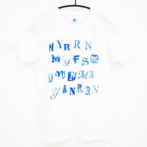 欅坂46 1ST YEAR BIRTHDAY Fingerprint Tシャツ ホワイト Mサイズ -