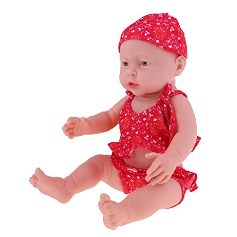 Baoblaze 抱き人形 ヌード 服付き 41cm 赤ちゃん人形 抱きドール ビニル製 新生児幼児 保育園おもちゃ 全8色 - #3